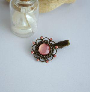 barrette rose